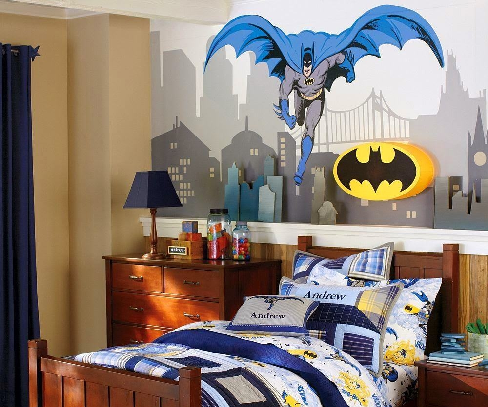 Batman Superhero Theme Decorations Batman Decor Robin and The Joke Movie Theme Room Batman Theme Decor Glass Storage Fun and Functional
