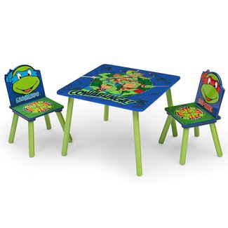 Delta Children Table & Chair Set, Nickelodeon Teenage Mutant Ninja Turtles