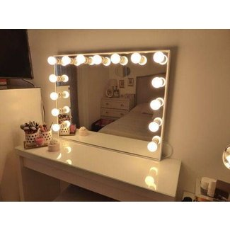 50 Vanity Mirror With Light Bulbs Up To 70 Off
