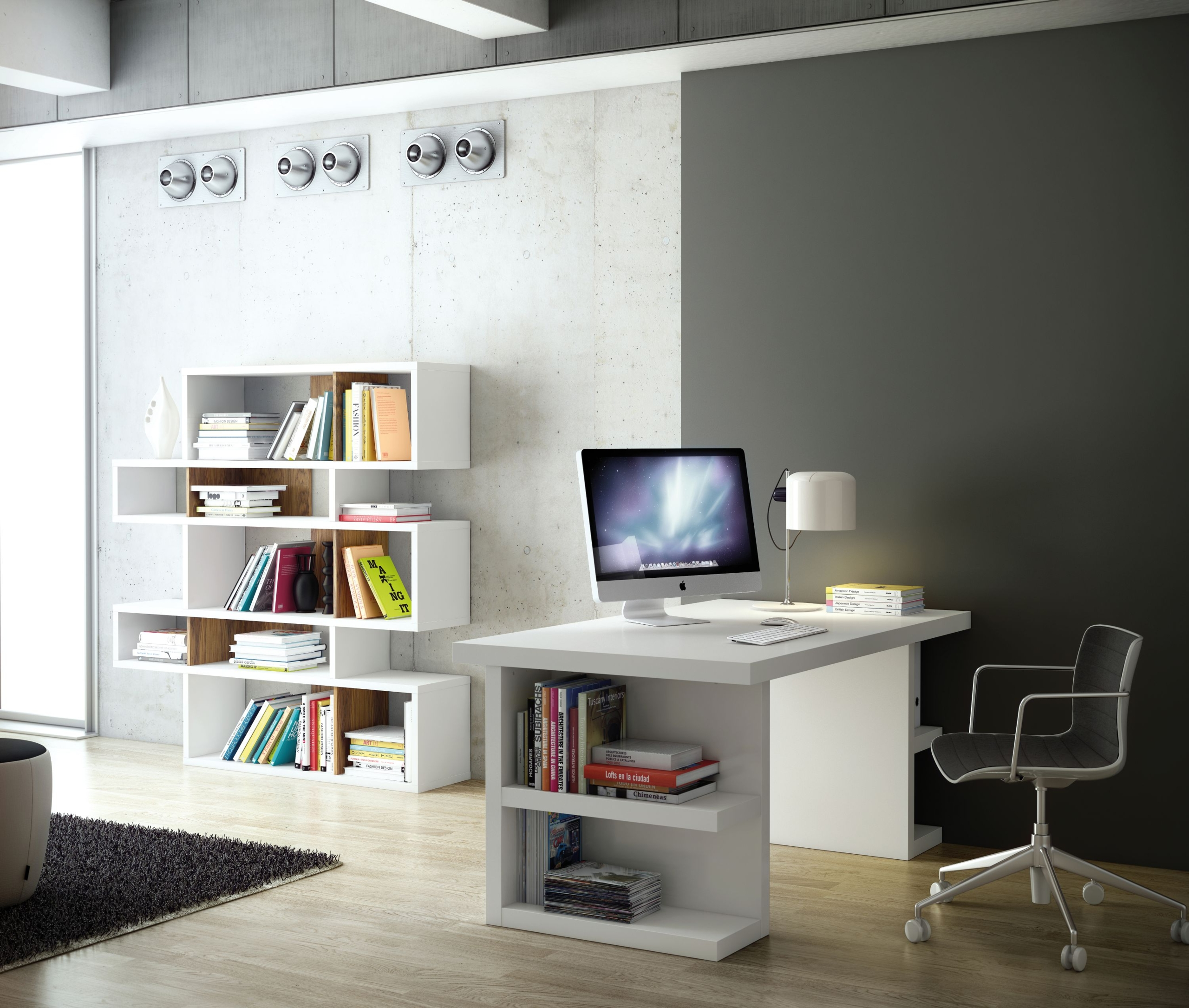 Desk For Small Spaces With Modern And Unique Design