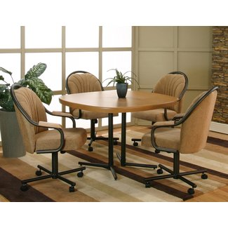 Dinette Chairs With Casters Inlancaster Pa - Image Mag