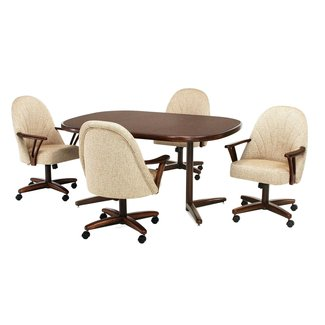 Dining Chairs With Casters Swivel - Pan011 Panama Tilt ...