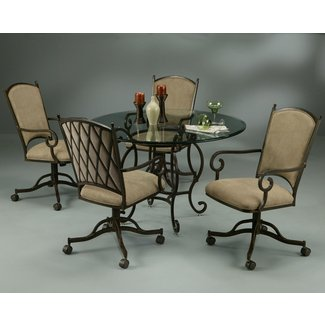 Dining room chairs with casters | Home Decor & Furniture