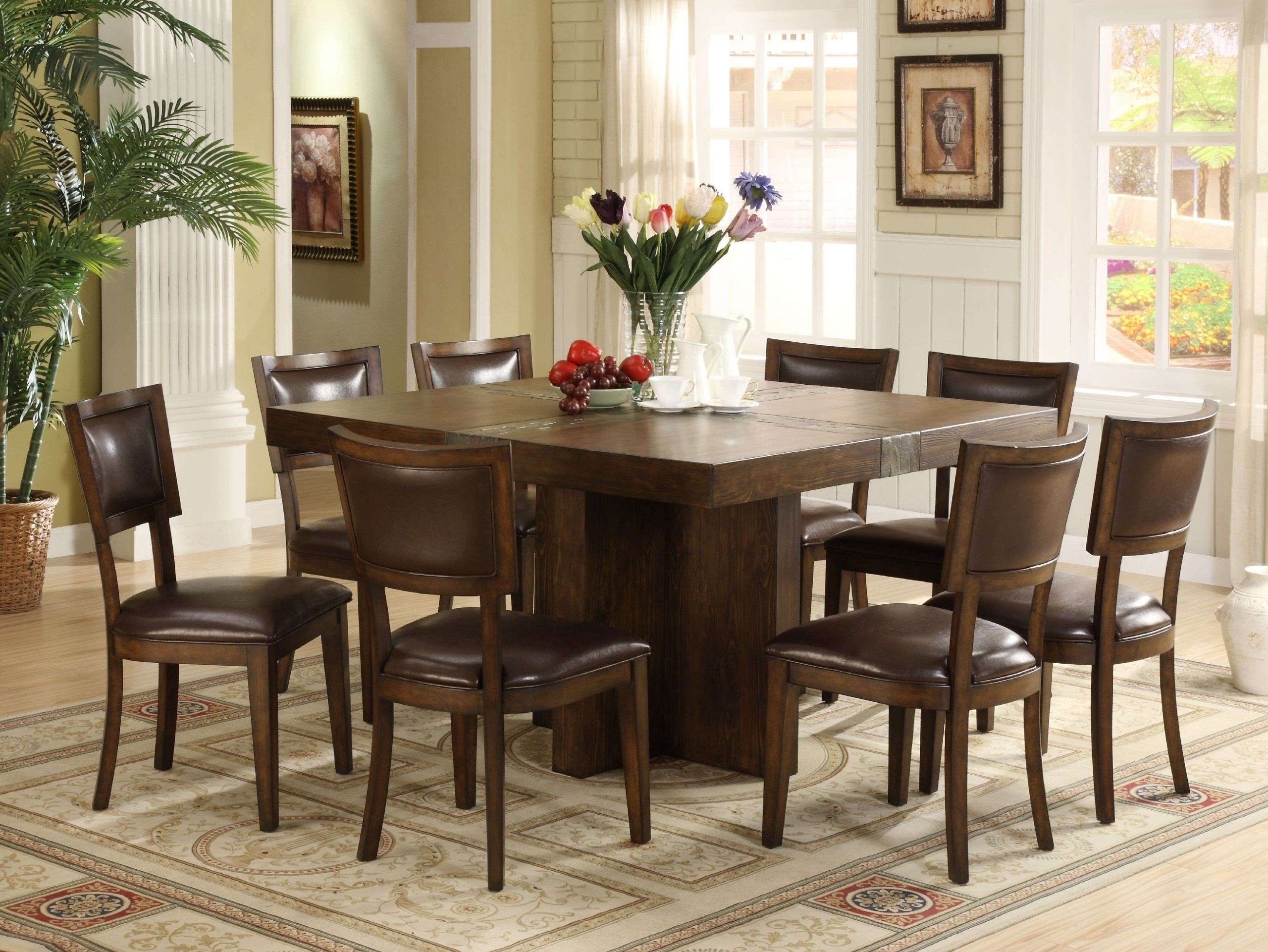 Square Dining Table For 9 You'll Love in 9   VisualHunt