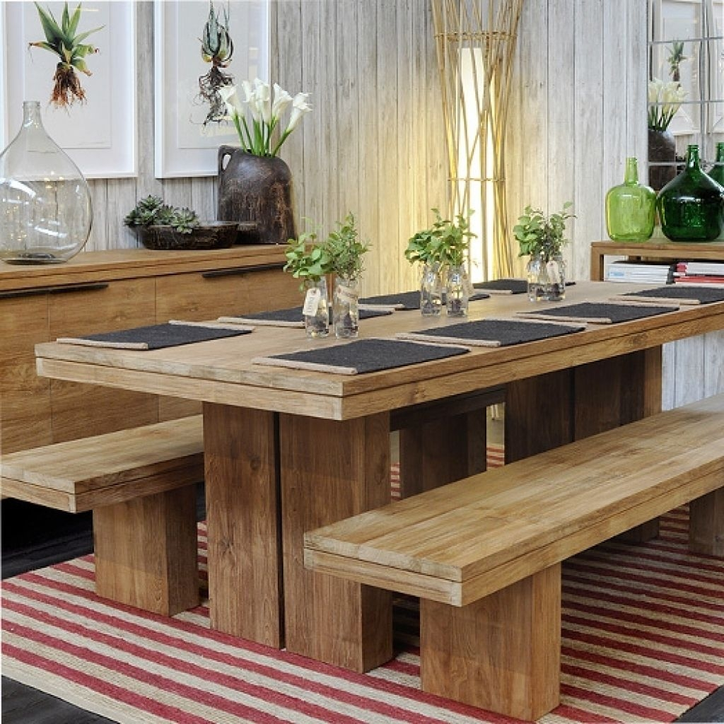 Dining Table With Bench You'll Love in 9   VisualHunt