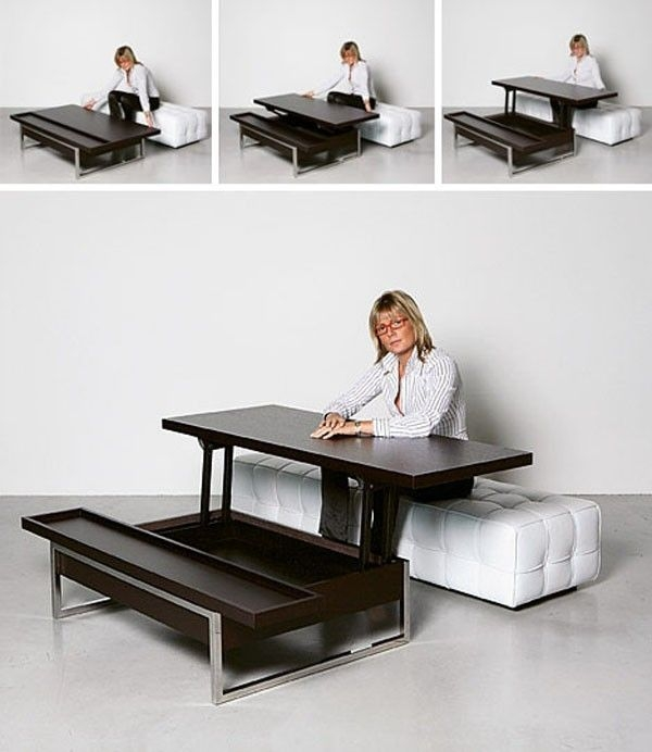 Dining Table: Desk Dining Table Convertible