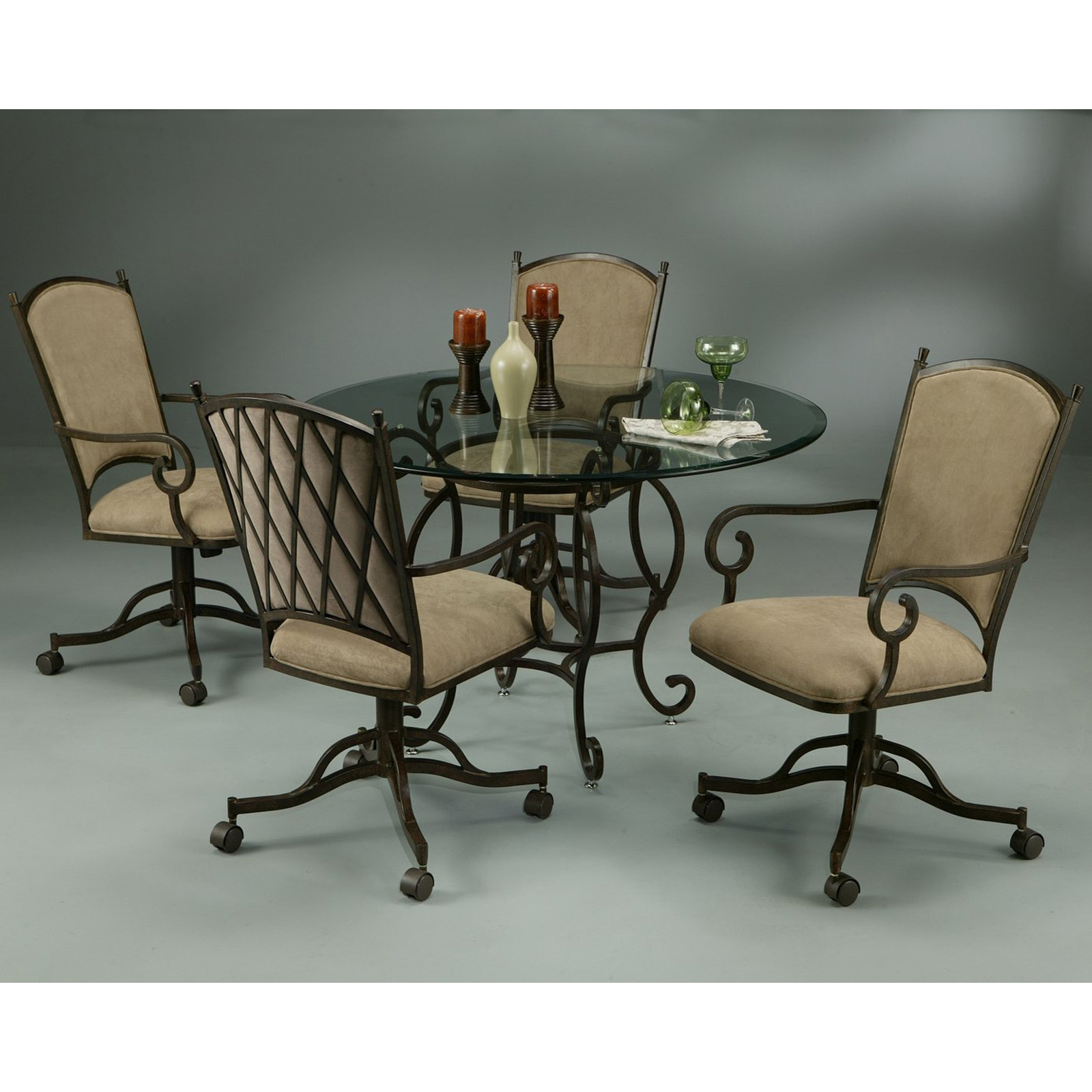 Dining Table Furniture Dining Table Set Caster Chairs  sc 1 st  Visual Hunt & Dining Table On Casters - Visual Hunt
