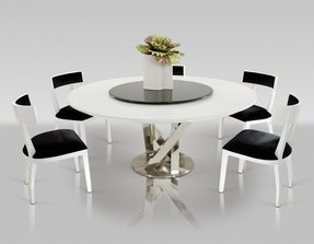 Awesome 50 Round Dining Table For 6 Youll Love In 2020 Visual Hunt Pdpeps Interior Chair Design Pdpepsorg