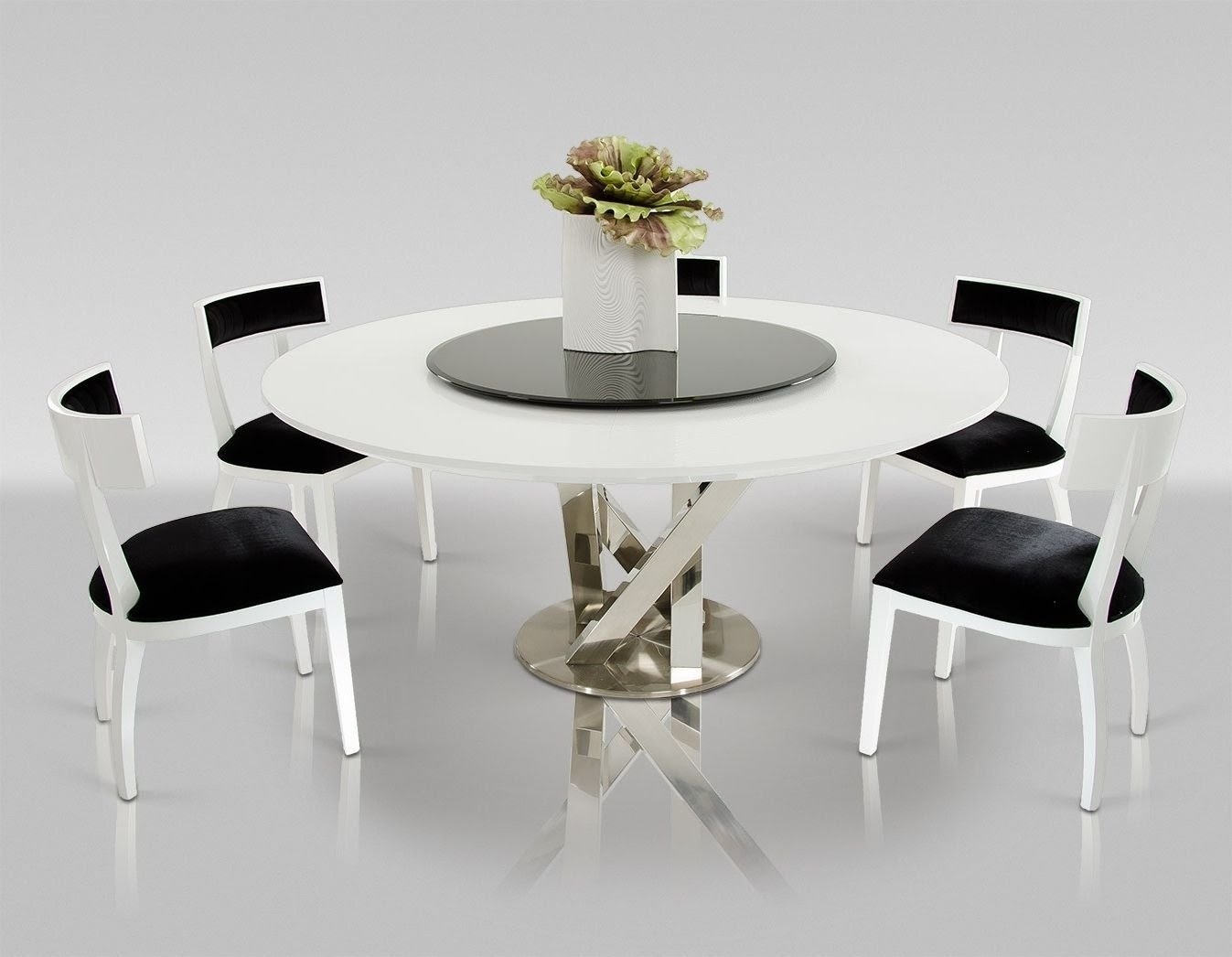 Dining Table Modern Round Tables Furniture Design Also For 6