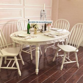 Dining Table: Shabby Chic Dining Table