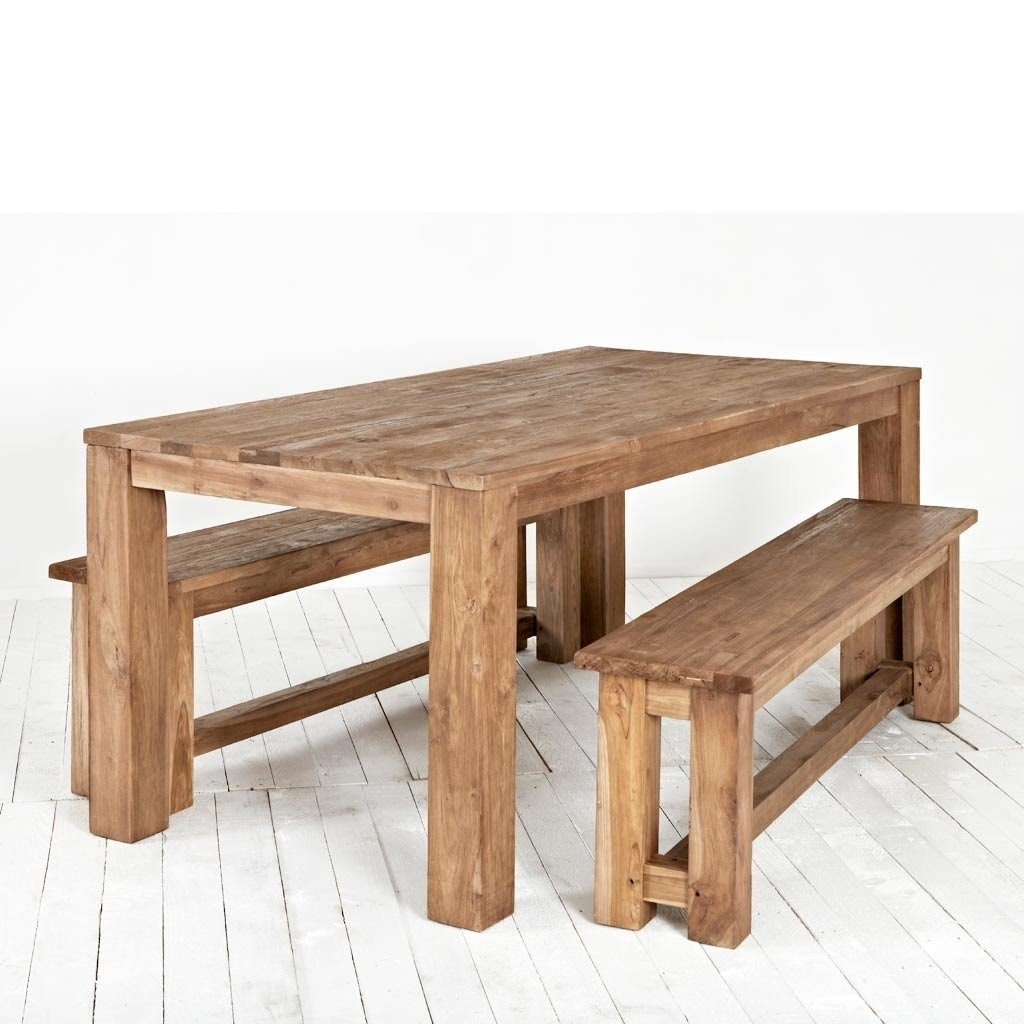 Dining Table With Bench Seats » Gallery Dining
