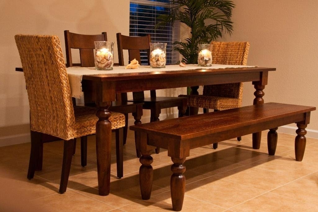 Dining Table With Bench, The Instant Way To Get More