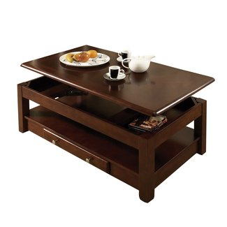 Dining Tables : Adjustable Height Round Coffee Table ...