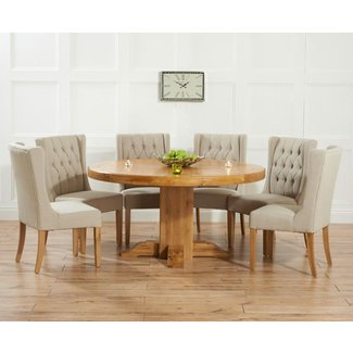 Round Dining Table For 6 Home Design
