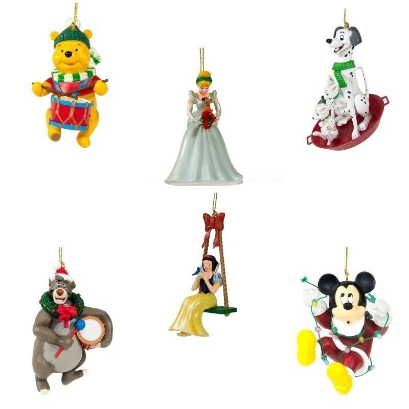 The Ultimate Disney 50 Character Tabletop Christmas Tree: Disney Christmas Ornaments