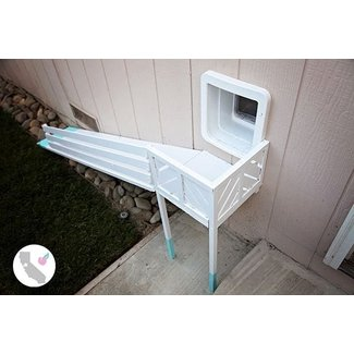 DIY Dog Door Ramp || California Peach || DIY, Dog