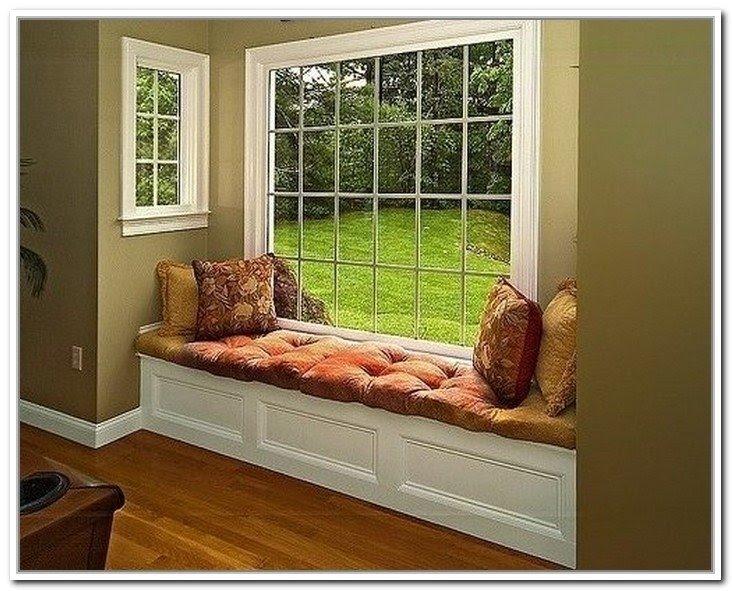 Delightful Diy Window Seat Storage Bench Window Bench With Storage .