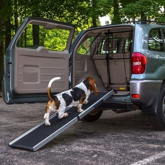 Dog Car Transport Kit - Pet Ramp and Barrier DRTCDB