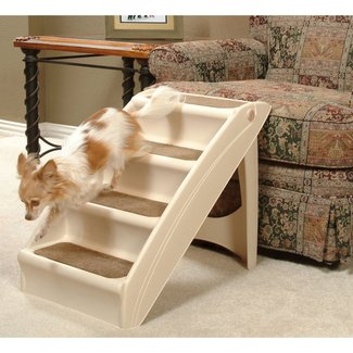 Dog Cat Pet Stairs PupStep Pup Steps Ladder Ramp Gear