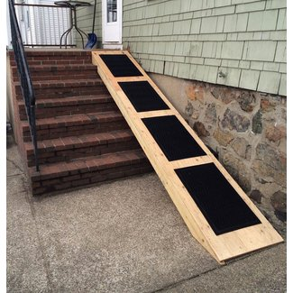 Dog Ramp Over Stairs | It's 2014, People | dog
