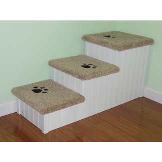 Dog Stairs for Big Dogs Handmade Extra Wide Long &