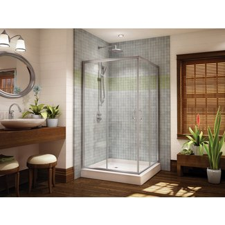 Doors & WIndows : Corner Shower Doors Glass - Shower