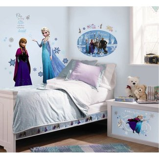 Dormitorios para niñas tema Frozen - Dormitorios colores y ...