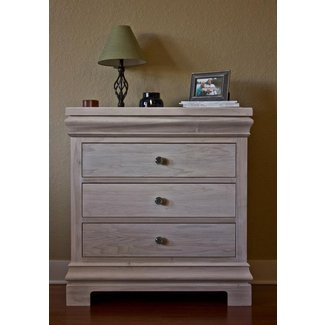 Dressers: space saving white washed dresser design ideas ...