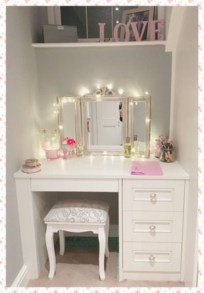 Surprising 50 Dressing Table Mirror With Lights Youll Love In 2020 Pabps2019 Chair Design Images Pabps2019Com
