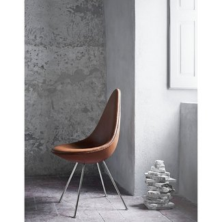 Drop Upholstered Chair Fritz Hansen - Milia Shop