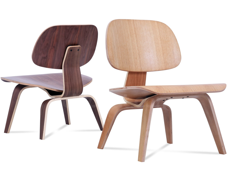 Bon Eames LCW Lounge Chair Wood (Platinum Replica)