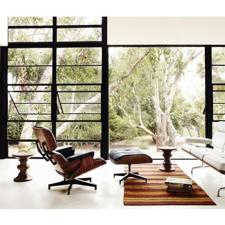 EAMES LOUNGE CHAIR AND OTTOMAN - Lounge chairs from Herman