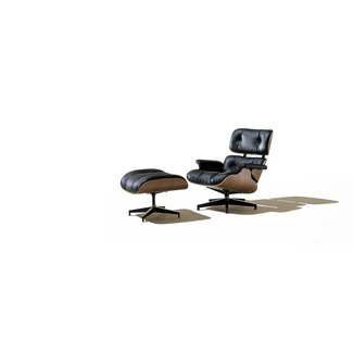 Eames Lounge Chair and Ottoman - The Awesomer