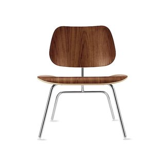 Eames Molded Plywood Lounge Chair with Wood Base - Herman