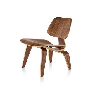 EAMES MOLDED PLYWOOD LOUNGE CHAIR WOOD BASE - Lounge ...