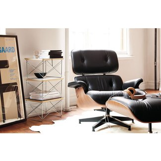 Eames® Tall Lounge Chair and Ottoman - Design Within Reach