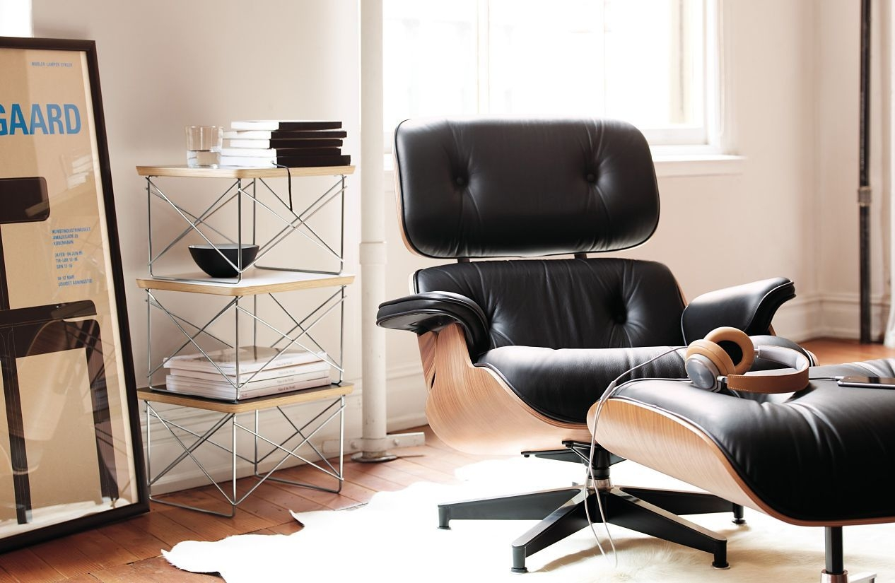 Eames® Tall Lounge Chair And Ottoman   Design Within Reach