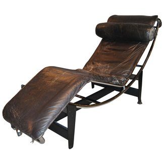 Early Le Corbusier/Jeanneret/Perriand LC4 Chaise Lounge ...