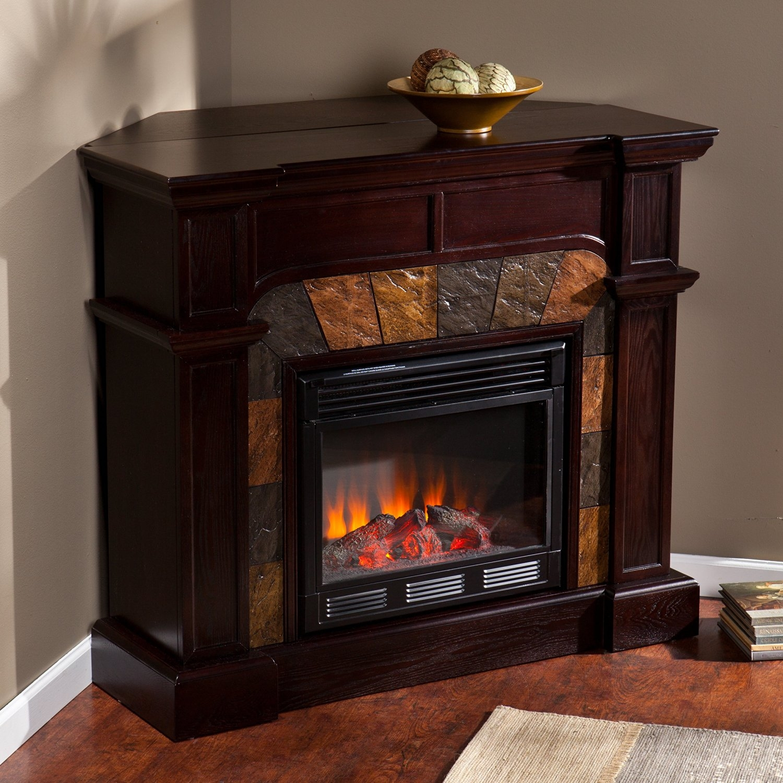 Corner Electric Fireplace Tv Stand   VisualHunt
