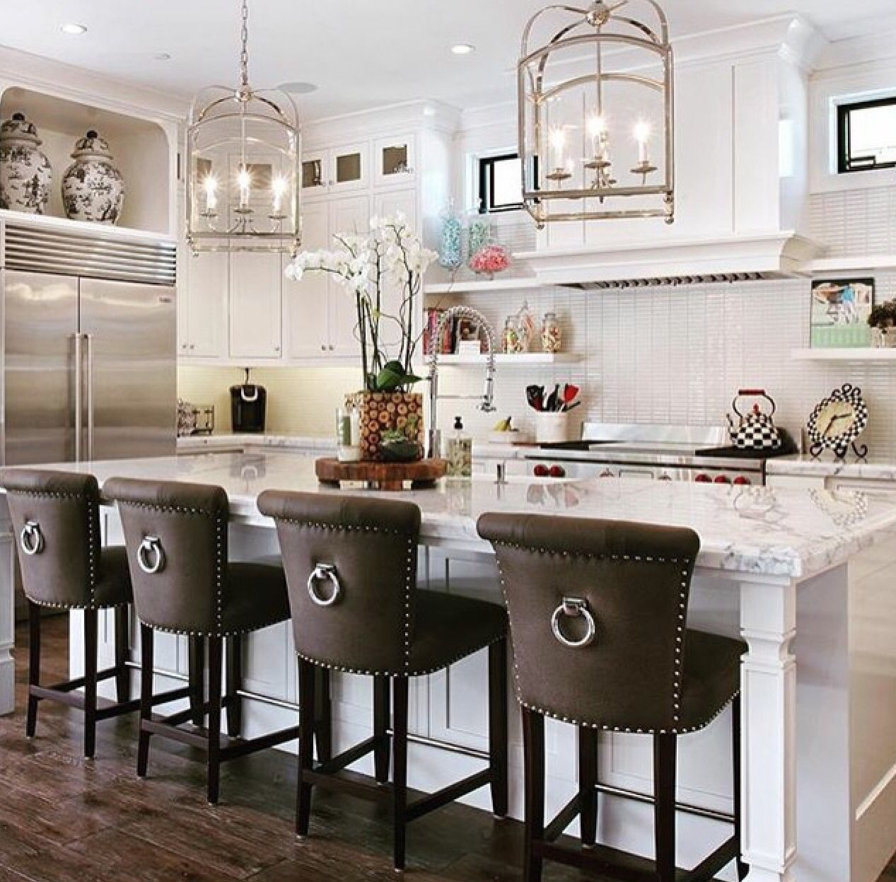 Kitchen Island With Bar Stools You'll Love in 9   VisualHunt
