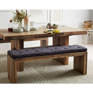 Emmerson Reclaimed Wood Dining Bench West Elm