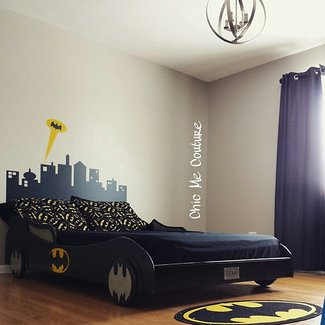 Everything You Need For A Batman Bedroom | Geek Decor