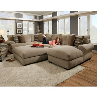 extra large sectional sofa visual hunt. Black Bedroom Furniture Sets. Home Design Ideas