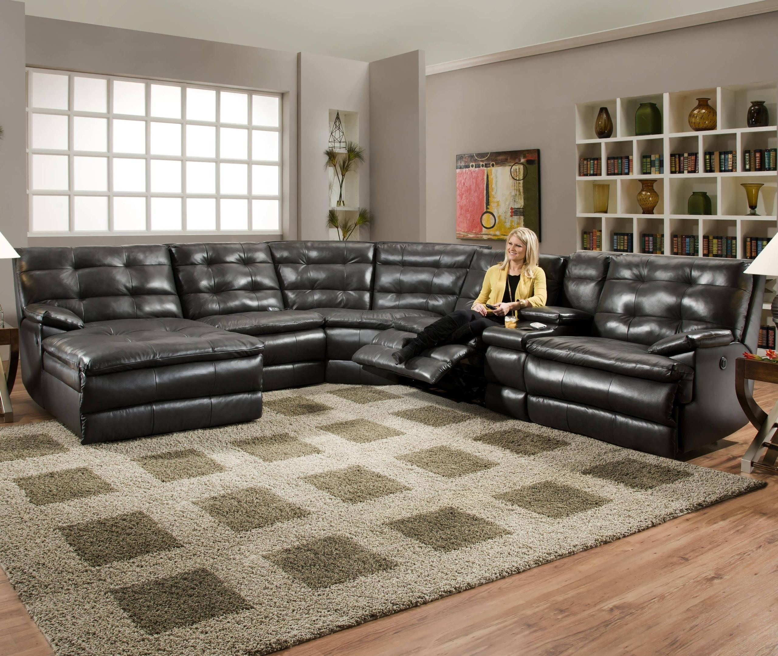 extra large sectional sofa visual hunt rh visualhunt com And Sofas www Contmporarysectionals Leather Sectional Sofas with Recliners