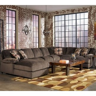 Fantastic Gray Velvet Oversized Extra Large Sectional ...