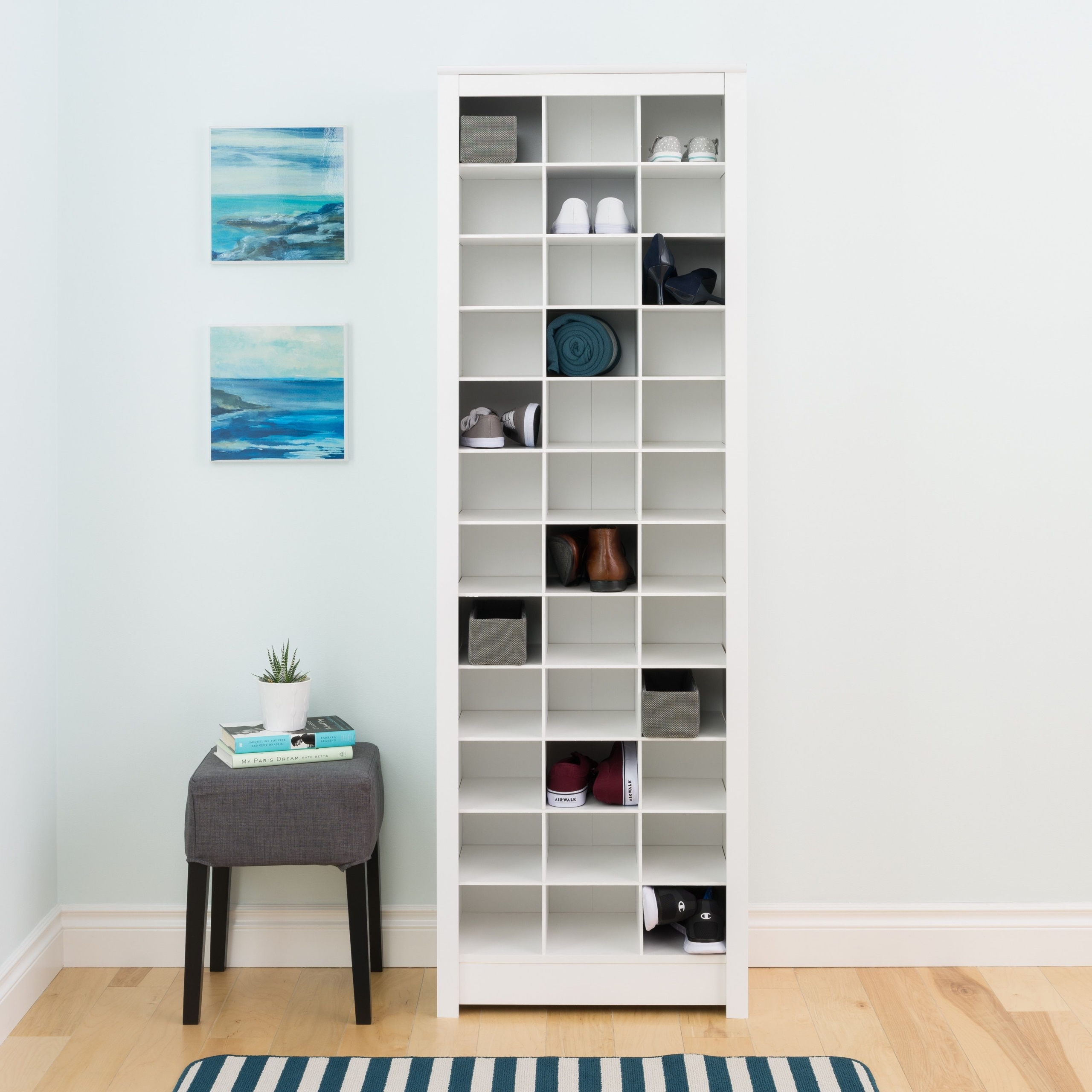 Tall Narrow Shoe Rack Visual Hunt