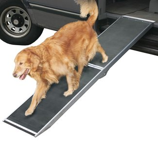 Folding Aluminum Dog Ramp for Trucks and SUVs | Discount