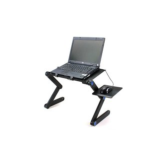 Folding Table Stand for Notebook Laptop with Mouse Holder ...