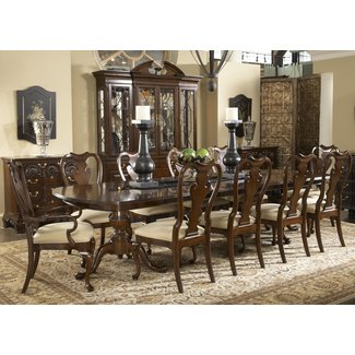 Fredericksburg Rectangular Double Pedestal Dining Table by ...