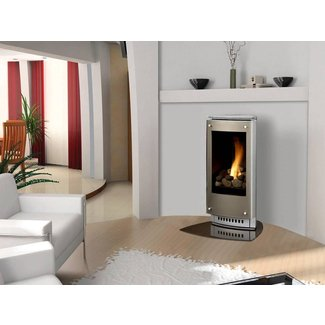 Free Standing Gas Fireplace Home Installation Process ...